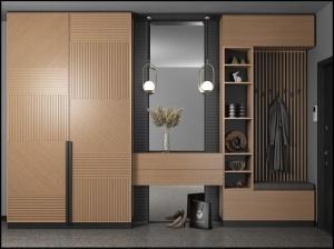 Tủ quần áo gỗ - VT6
